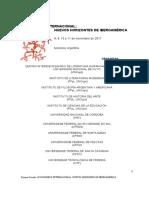 Primera Circular III HORIZONTES DE IBEROAMERICA NOViembre 2017