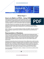 White Paper One Vhdl Maths 2008