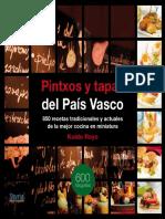 194992680 Pintxos y Tapas Del Pais Vasco