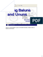 Baluns and Ununs