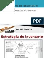 Cap10 SUMINISTROS Estrategias de Inventarios