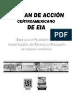 Plan de accion centroamericano de EIA