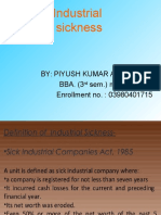 Industrial Sicness
