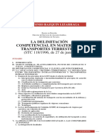 LA DELIMITACIÓN Competencial Supletoriedad Trib Constitucional
