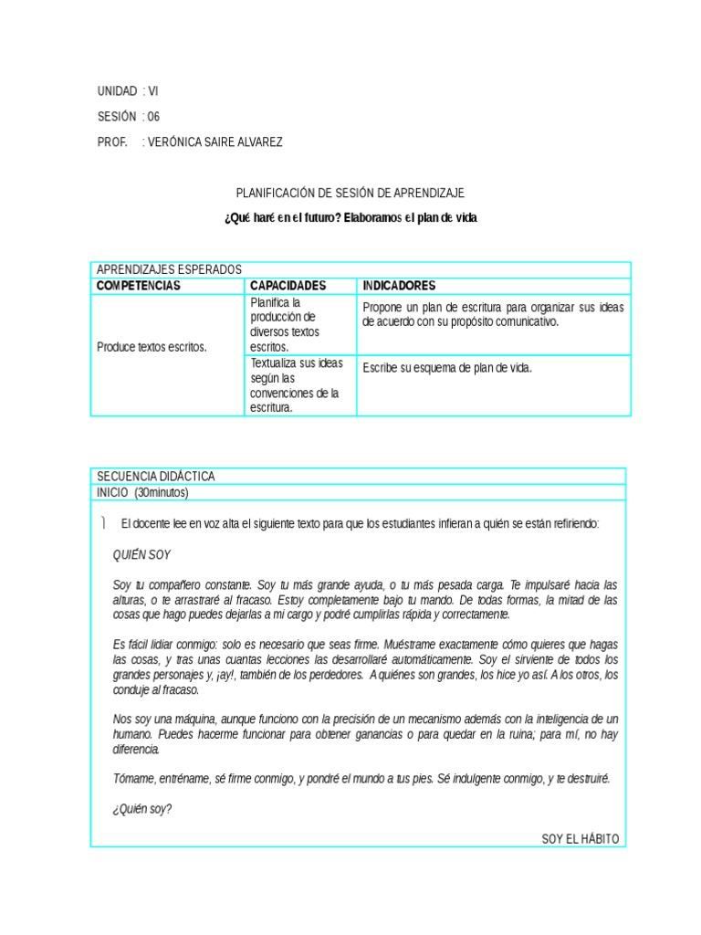 Único Plantilla De Plan De Escritura Viñeta - Ejemplo De Currículum ...
