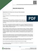 Decreto 1101/2016