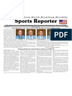 October 19 - 25, 2016  Sports Reporter