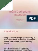 Brain Computing Interface