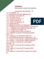 Lista de Acrónimos