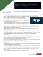 Guideform Specification REF615 758381 ENA