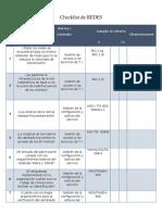 Checklist Redes - Seguridad