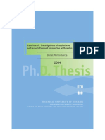 Calorimetric Investigations of Asphalene Self-Association and Interaction With Resins