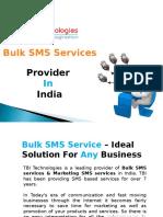Bulk Sms Service Provider India