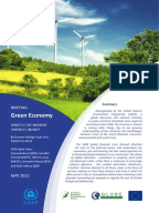 Creating a Green Economy Essay   Green Economy Dirk Hebel   ETH Z  rich Youth in the Green Economy