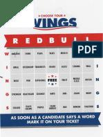 Bingo Card at Ventnor