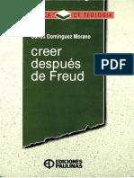Creer después de Freud - Carlos Domínguez Morano, S.J..pdf