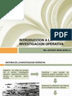 Sem1_introducción a La Investigacion Operativa
