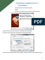 Manual de Instalação VirtualBox