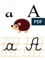 Alfabetul planse
