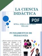 2. La Ciencia Didáctica