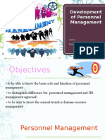 nature and scope of personnel management