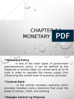 Chapter 14 Monetary and Fiscal Policy
