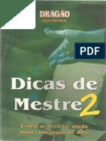 Dicas de Mestre 2 - Biblioteca Élfica