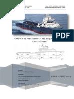 Estudio del Seakeeping de un buque Crew 30m