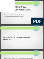 Introducción a La Inteligencia Artificial