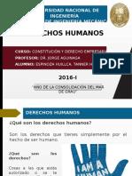 TEMA N°1 - DERECHOS HUMANOS