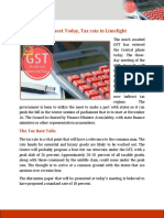 GST and Tax Rate
