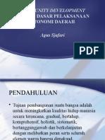 Comunity Pembangunan, 6