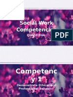 10 social work competencies