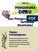 Bab 04 Pengukuran Debu dan Pengaruh Thd Kes.ppt