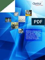 Optics & Allied Engineering Pvt. Ltd.  Corporate brochure