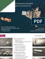 Kopits - Oil and Economic Growth (SIPA, 2014) - Presentation Version[1]