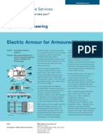 Electric Armour for Armoured Vehicles