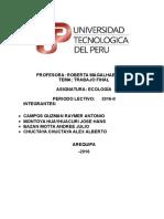 Desarrollo Sostenible y Ecologia Autonomo