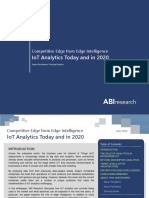 IoT Analytics Today and in 2020 [ABI Research]