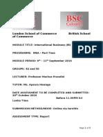 IB Assignment - Batch 42 45 - September 2016