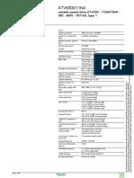 Altivar Process ATV600 ATV630D11N4