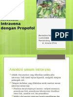 Anestesi Intravena Dengan Propofol