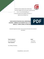 Informe de Pasantías - Luis Flores