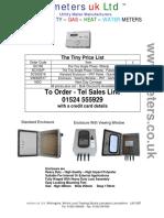 Check Meter Price List