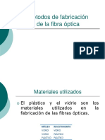 04 Métodos de Fabricación Fibra Optica
