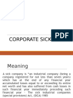 Corporate Sickness