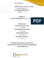 Contaminacion Agua Solucion 1 Planificacion Grupal