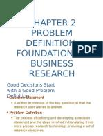 Chpt 2 Problem Statement