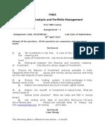 FM03 Assignment 1