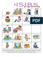 Les Loisirs2 Jaime.islcollective Worksheets 64989635